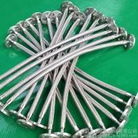 不锈钢金属软管 高压金属软管 法兰式编织金属软管  金属软管厂家