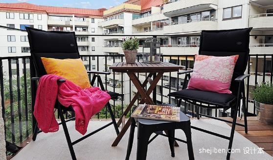 凉台休闲桌椅有哪几种常见的类型